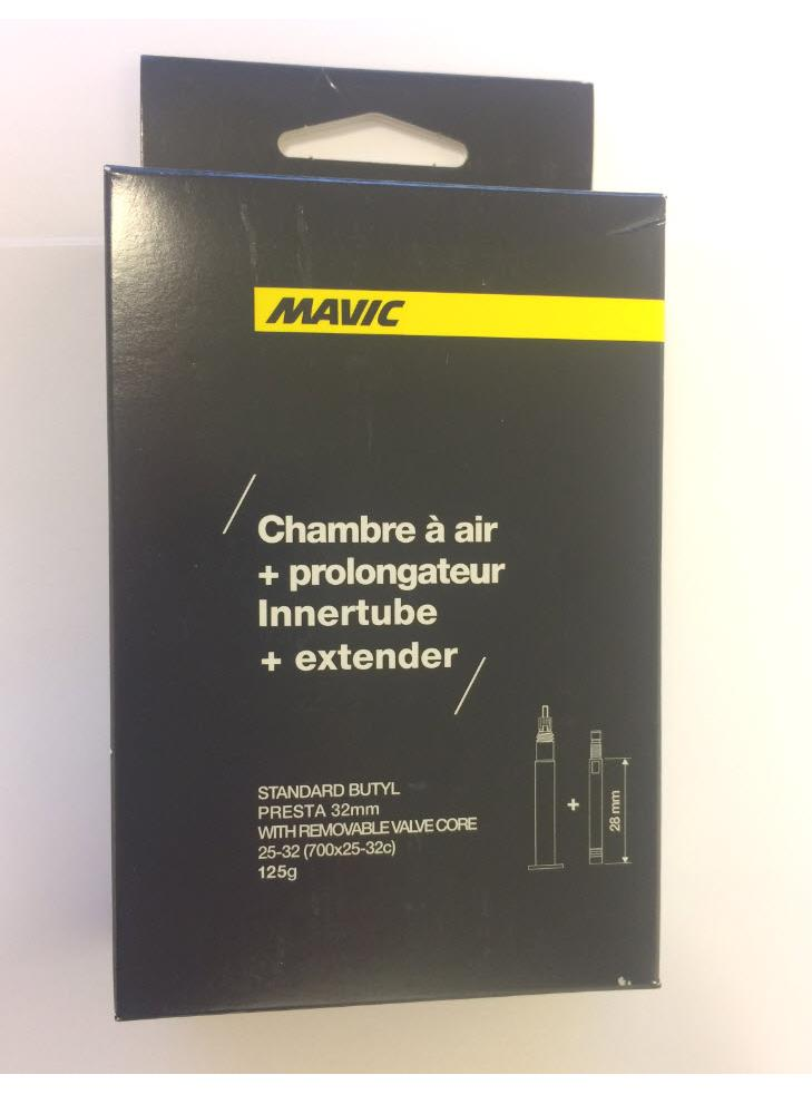 74645 Mavic 40799301 Mavic Slange 25/32-700 32mm 40799301, med 28mm Adapter