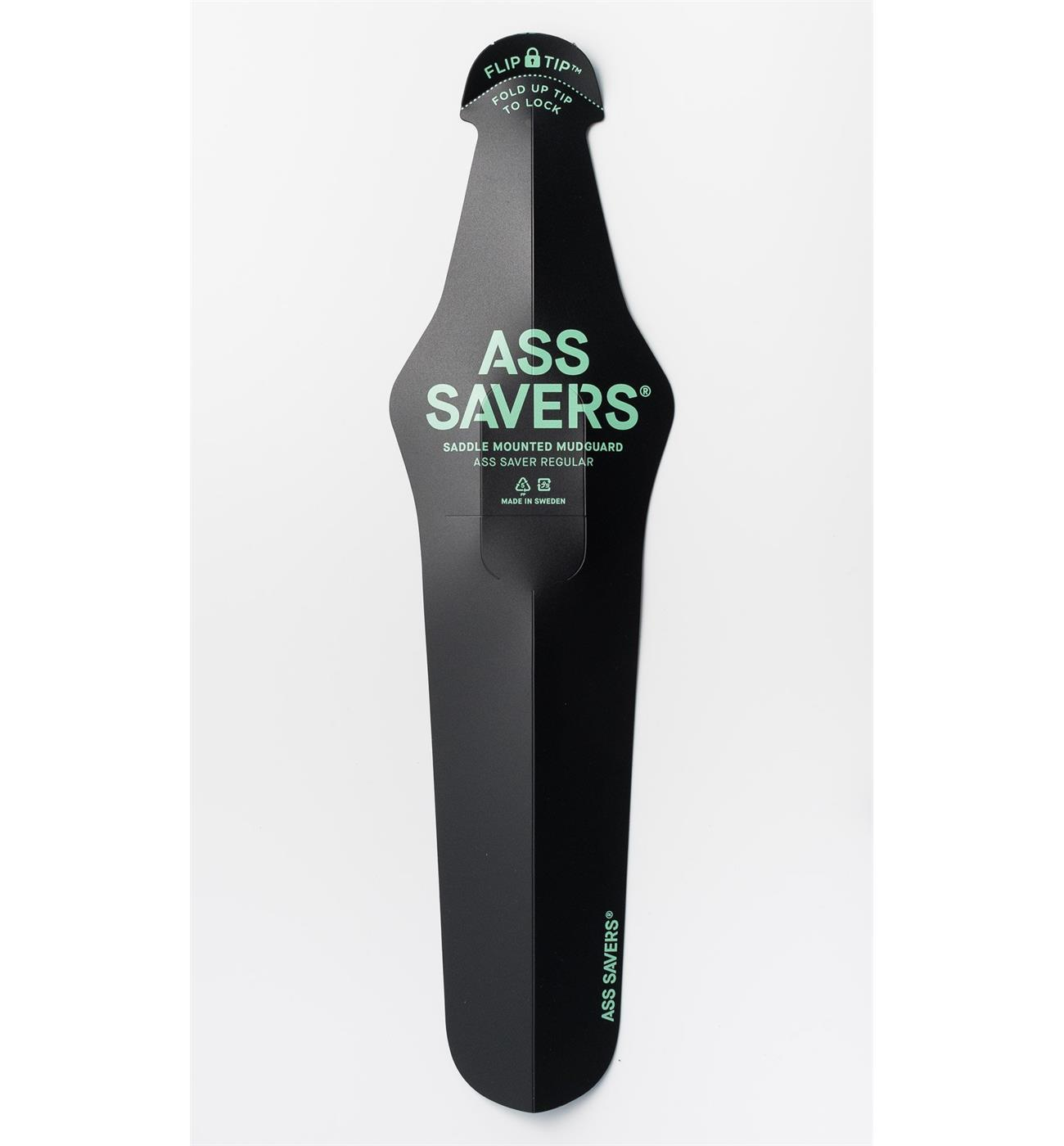 30980 Ass Savers ASR-1-BLK ASS SAVER Regular Bakskjerm Sort