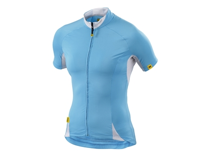 95559 Mavic  TRØYE KORT MAVIC CLOUD LADY BLUE STR. L